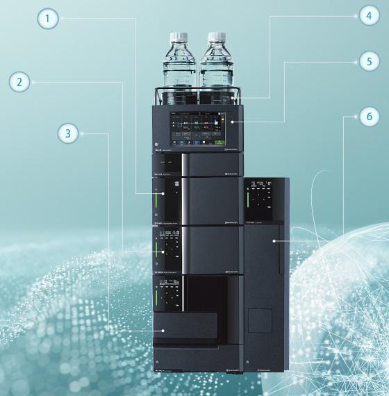 岛津Nexera LC-40系列高效液相色谱仪